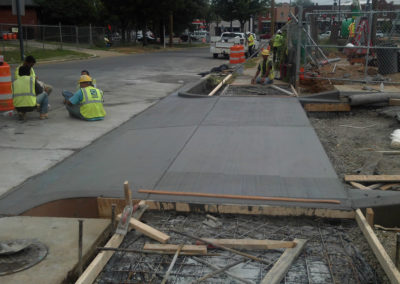 City ADA Ramp Concrete 3