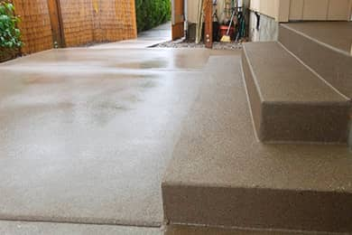 sand finish concrete portland oregon