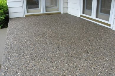 exposed concrete service in portland oregon